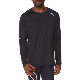 2XU Aero LS-skjorte Herrer, sort